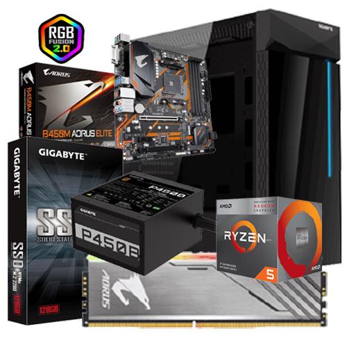 Exclusive Gigabyte PC B450M-AMD Ryzen5 340
