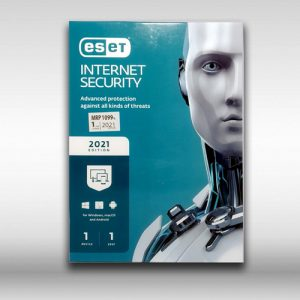 ESET 2021 Edition Internet Security for Windows - 1 Device - 1 Year