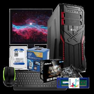 Exclusive AsRock H81M -Intel 4th Gen Core i3-3.4GHz PC