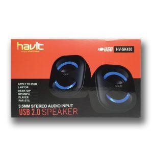 Havit HV-SK430 USB Black-Blue Speaker