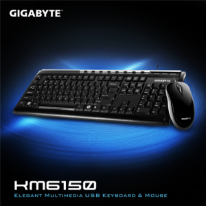Gigabyte KM6150 Keyboard and Mouse