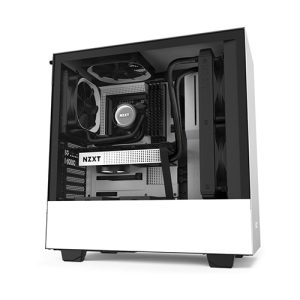 NZXT H510 COMPACT MID TOWER CASE (WHITE)