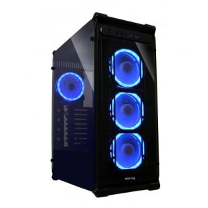 VALUE TOP VT G03-L ATX TEMPERED GLASS FULL TOWER LED CASING